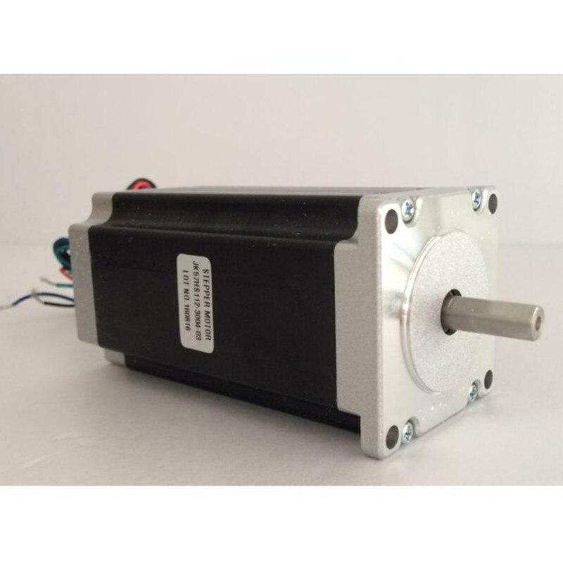 3 uds Nema23 Motor paso a paso 57HS112-3004 2.8N. m 3A 4 motor de plomo Nema 23 398 Oz-en para impresora 3D