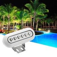 2pcs/Lots Stainless Steel Underwater Pool Led Lights IP68 12V Low Voltage Swimming Pool Led Lighting Piscina Lighting for Tank