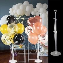 70cm DIY Ballon Stehen 7 Rohre Ballon Halter Spalte für Geburtstag Party Dekoration Kids Favors Hochzeit Ballons Hintergrund Arch 8