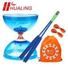 Chineseyoyo roulement diabolo jonglage jouets Diabolo professionnel ensemble emballage 6 couleurs pour choisir avec sac de ficelle