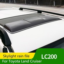 Abris de toit de toit de toit   Pour Toyota Land Cruiser LC200 2008-2019, bloc de protection solaire LC200 modification de sourcils de pluie