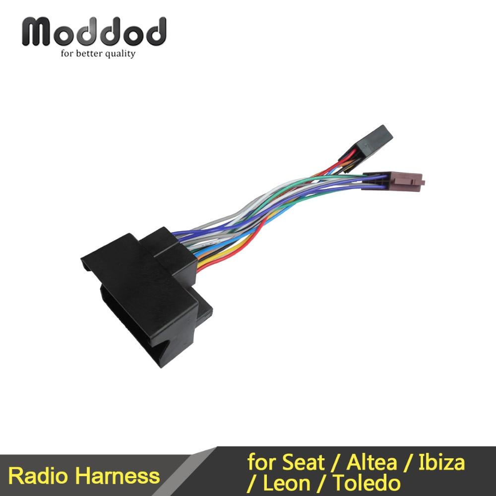 Coche ISO arnés de cableado para Seat Altea Ibiza Leon Toledo Radio...