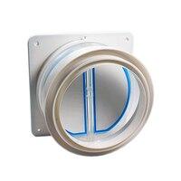 High quality Kitchen range hoods check valve anti odor control bathroom check valve back-pressure valve non-return flap va