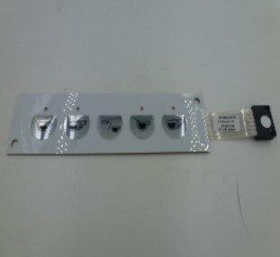 Membrana de PANEL pulsador CIMBALI M27 RE 973031010 Membrana de 5 botones
