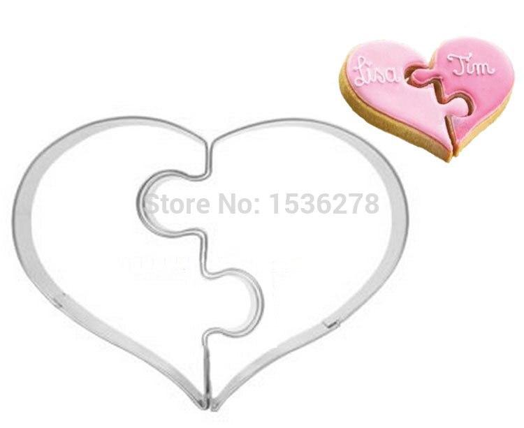 Molde de galletas de acero inoxidable para el Día de San Valentín envío gratis