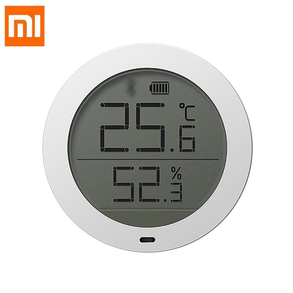 Xiaomi xiaomi kits de automação familiar para casa inteligente termostato precisão temperatura e umidade monitor