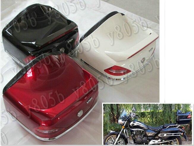 Portaequipajes para maletero de motocicleta, caja trasera, respaldo para Yamaha VStar 400 650 1100 1300 Virago Xv 250 535 750 1100 Road Star