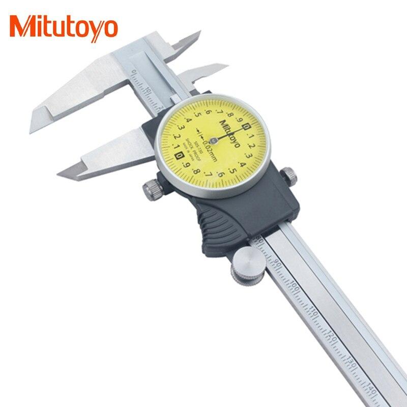 Оригинальный штангенциркуль Mitutoyo 505-730, 0-150 мм, 0,02 мм, ударопрочные штангенциркули, микрометр, измерительные инструменты, новинка