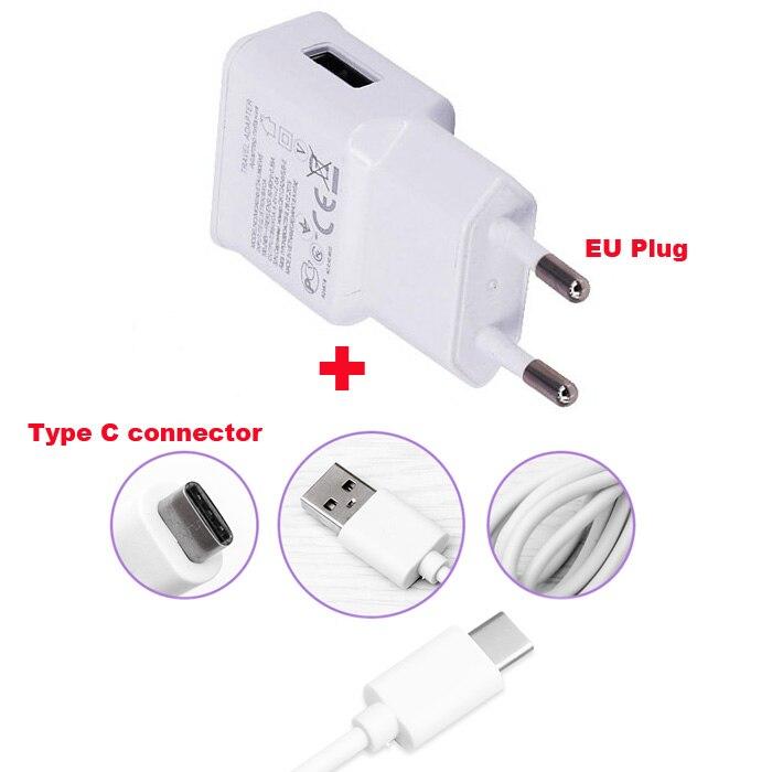 2A UE tipo C Cable de datos USB Cable de cargador para teléfono móvil para HTC 10 un M10 ZTE Grand X 3 Nubia Z11/Mini/Z12 Z17/mini/Z17 Lite