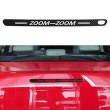 Autocollants de couverture de décoration de frein   Étiquette en Fiber de carbone, pour MAZDA 6-remount 6 Zoom voiture style, accessoires automobiles