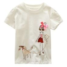 Brand Kids 18M-6Y Baby Boys Girls T-Shirt New Summer Short Sleeve Tees Childrens Tops Clothing Cotton Cartoon Pattern Tshirt