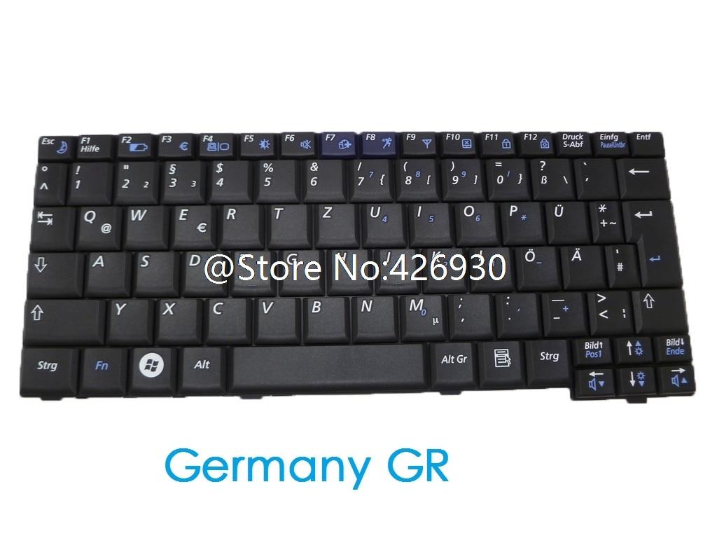 Teclado portátil para Samsung NC10 ND10 N140 N128 N130 N110 N108 N135 ARFR Turquía TR de Alemania GR Rusia RU Arabia AR Canadá CA UK