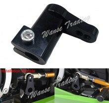 طقم مساند القدم الخلفية لدراجة كاوازاكي نينجا 250R 300 400R 650 650R ZX6R ZX10R ZX14 ZX14R Z1000 ER4N ER6F ER6N