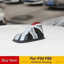 Coque décorative de Base dantenne de voiture   Autocollant de couverture de boîtier pour Mini Cooper One S JCW F54 Clubman F60 Countryman, accessoires de voiture