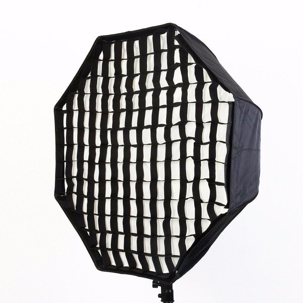 Favo de Mel Grade de Fibra de Carbono Suporte para Godox Centímetros Octagon Photo Studio Suave Box Fotográfia 80