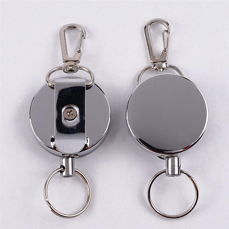 5 шт. Выдвижная сумка для сигнализации держатель для крючка анти-потерянный Yoyo лыжный Пасс ID карта