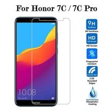 9 H Gehärtetem Glas Für Huawei Honor 7X Ehre 7A 7C Pro 7 7i Display-schutz auf Hauwei Honor7 Honor7i ehre 7 cpro Schutzhülle Film