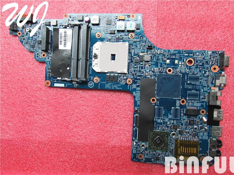 Para HP PAVILION DV6-7010US cuaderno DV6-7000 placa base de computadora portátil 682180-001 682180-501
