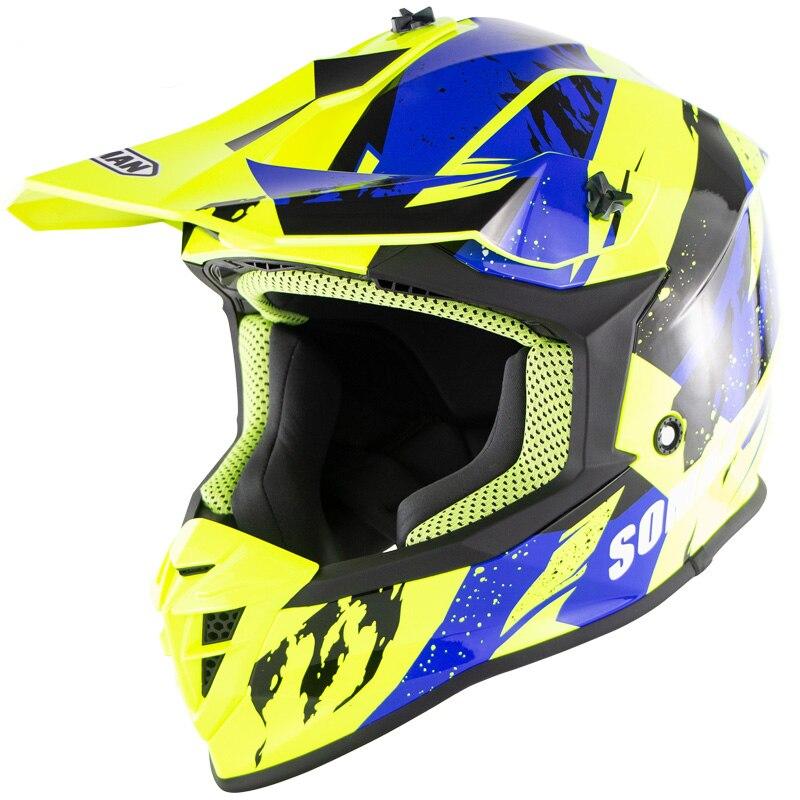Cascos de motocicleta con anillo doble D y hebilla para Motocross, color rojo, para Moto