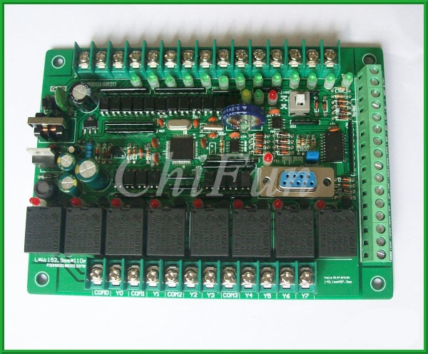 PLC placa de controle industrial controlador de temperatura DS18B20 controlador programável PLC controlador