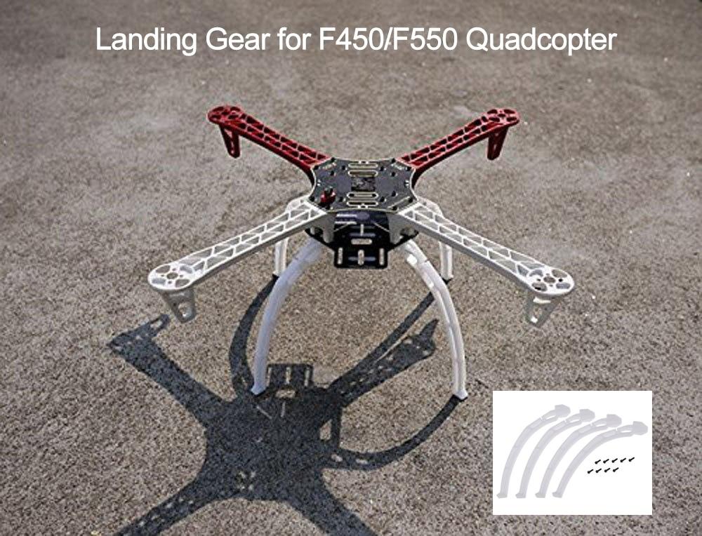 Комплект высокой зубчатой передачи, увеличение высоты для DJI F450 F550, комплект с рамкой для дрона, DIY FPV, Квадрокоптер, шасси, нескользящий штати...