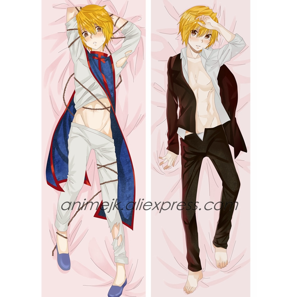 Capa de travesseiro para anime jk hunter x hunter, fantasia masculina kurapeurica, estojo de travesseiro