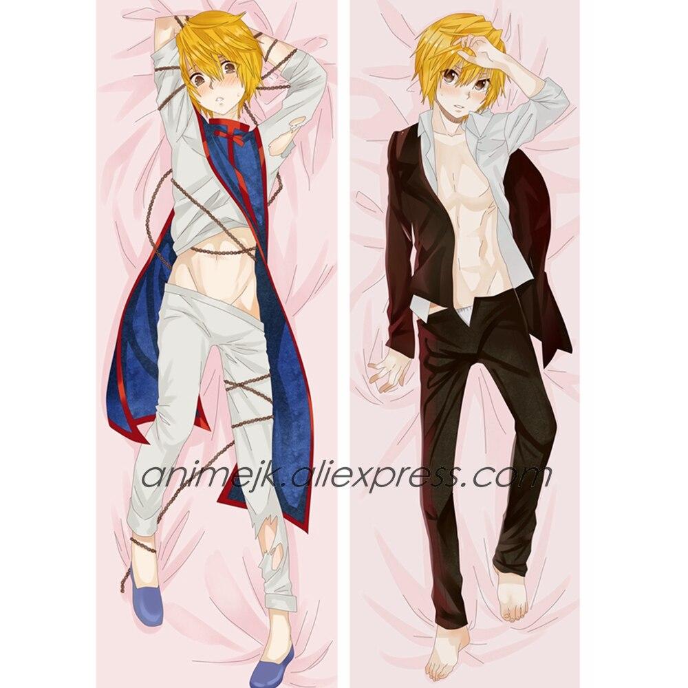 Funda de almohada Anime JK Hunter x Hunter Kurapika para hombre Dakimakura