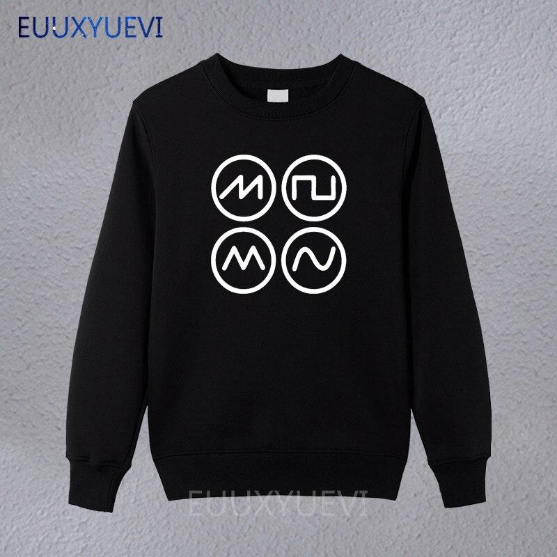 2018 gran oferta Super moda adulto sintetizador olas Techno Rave sintetizador de los hombres sudaderas de hombre de algodón sudaderas con capucha suéter