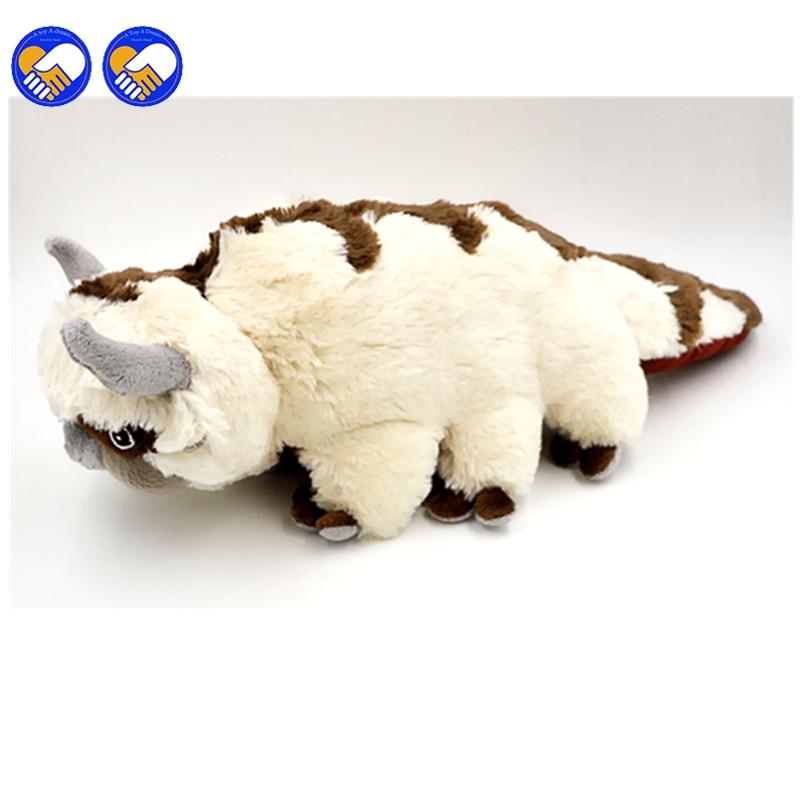 Игрушка мечты, 50 см, большой размер, аниме, каваи, Аватар, последнее Надувное Appa, плюшевая игрушка, мягкие игрушки для животных, игрушки для ку...