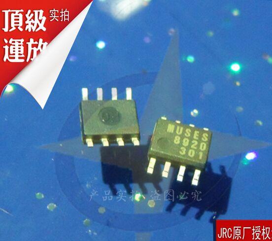 משלוח חינם! 100% מקוריים חדש MUSES8920E ZZZB MUSES8920D מוזות 8920 OP-AMP SOP-8