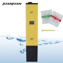 10 pièces avec boîte de vente au détail haute précision ATC stylo Type PH mètre numérique Portable liquide testeur qualité de leau PH valeur testeur 30% de réduction