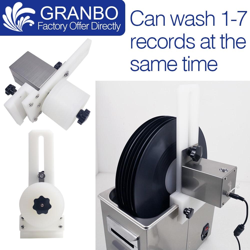 Los discos de vinilo lavadora soporte para Auto gramófono LP disco porta...