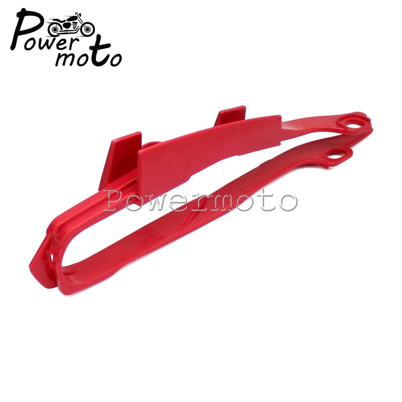 Motocicleta Motocross rojo basculante guardia cadena deslizante Protector para Honda CR FCI 125R 250R 450R 250X 450X 2000- 2013