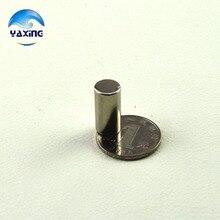 Imán de metal de 5 piezas Dia10x30 mm imán redondo caliente imanes fuertes tierra rara imán de neodimio 10x30mm al por mayor 10*30mm