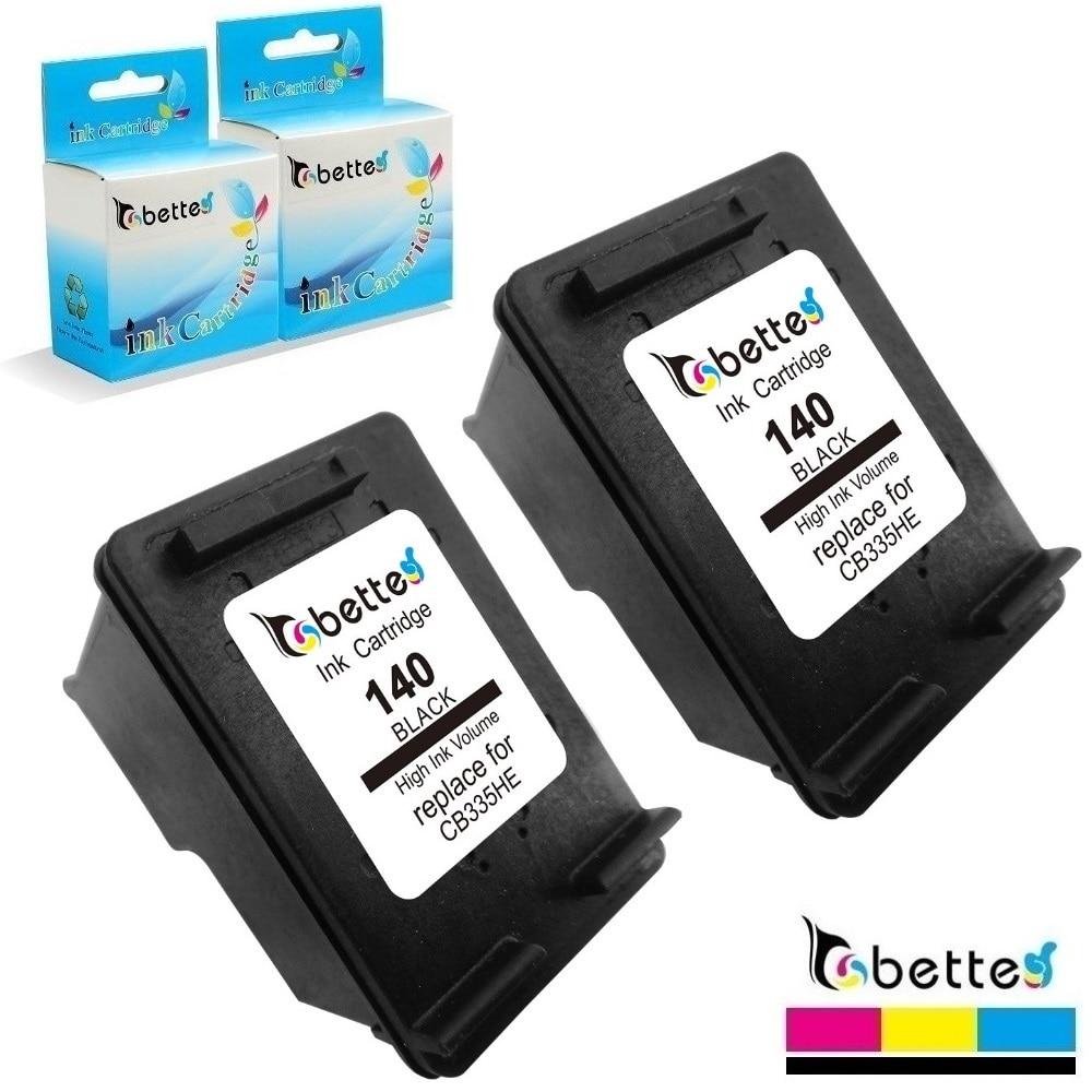 2PK Bette cartucho para reemplazar HP Officejet 140 J6400 J6405 J6415 J6424 J6450 J6480 Deskjet serie D4245 D4260 D4263 D4268 D4360 D4368