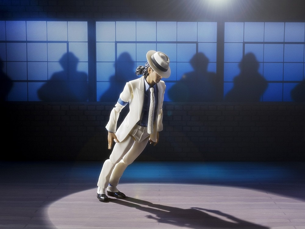 Música Popular MJ Rock King Nations S.H.F artista Jackson suave Criminal figura de acción SHF Juguetes
