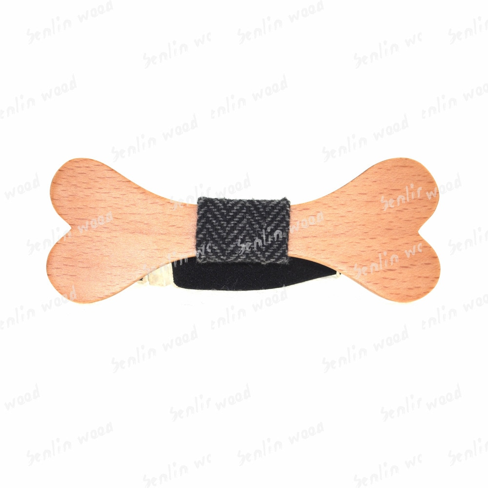 Fashion Western Wood Gentleman Cute Bone Bow Ties Handmade Butterfly Wedding Party Bow Ties Butterfly Wooden Unique Tie for Man