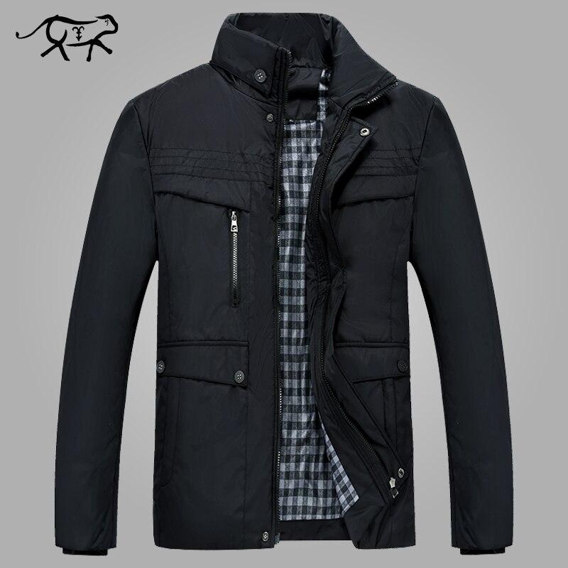 Chaquetas y abrigos de marca para hombre, chaquetas de invierno cálidas e informales, ropa de abrigo para hombre, chaqueta de moda para hombre con cremallera para hombre cálida acolchada de algodón 4XL