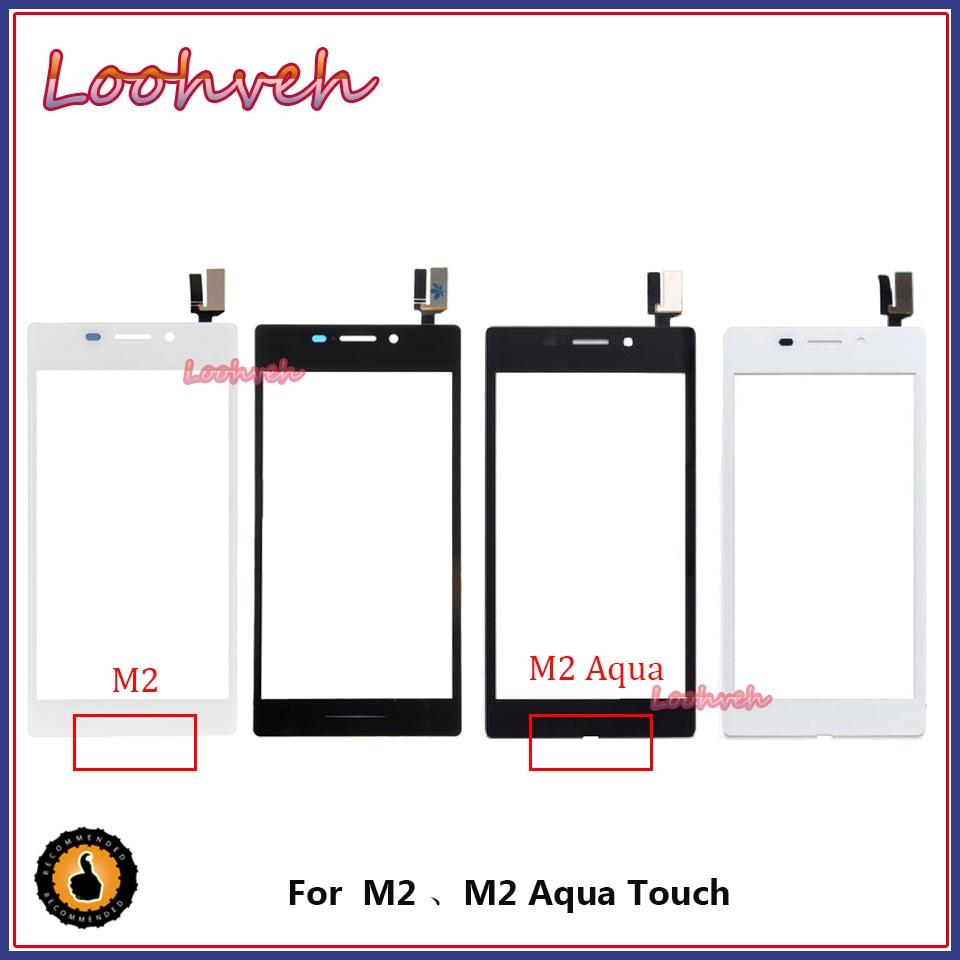 """De alta calidad de 4,8 """"para Sony Xperia M2 M2 AQUA S50H D2302 D2303 Touch Sensor de panel de pantalla digitalizador de Lentes de vidrio exterior"""