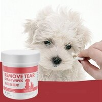 100Pcs Pet Wipes Tear Stains Removal No Irritating Clean Decontamination Hypoallergenic Soft Face Wipes For Cat Dog Dropshipping