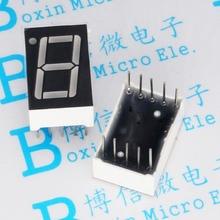 100PCS/LOT Digital tube 0.56 inches common cathode LED 42056 1-bit Highlight RED