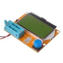 9 v LCD Digitale Transistor Tester LCR-T4 ESR Meter 12864 Backlight Capaciteit