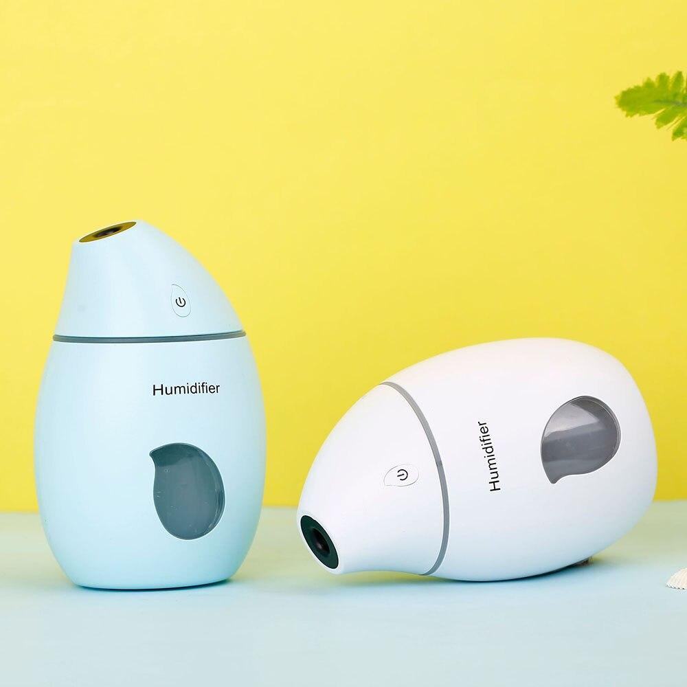 Humidificador de aire USB difusor ultrasónico de aromaterapia con luz nocturna colorida Nano Mister para Spa coche de oficina