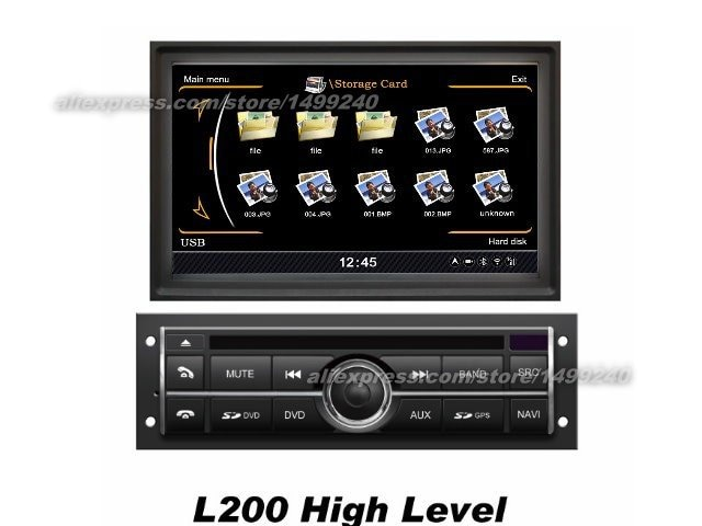 For Mitsubishi Challenger 2008~2013 - Car GPS Navigation DVD Player Radio Stereo TV BT iPod WIFI Multimedia System