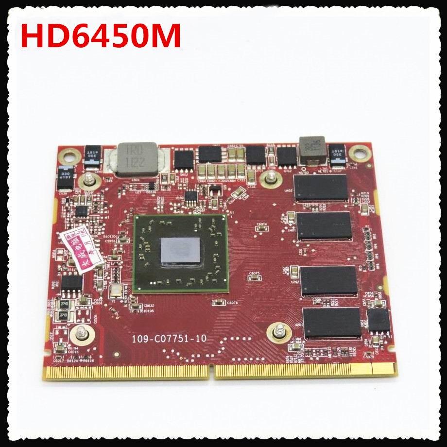 653732-001 650680-001 109-C07751-10 HD 6450M 1 ГБ VGA Видеокарта для HP TouchSmart 520 AiO PC Elite 7320 Exige2