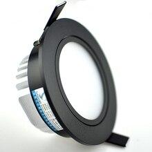 Dimmbare led downlight lampe 3w 5w 7W 10W 12w cob led spot 220 V/ 110V decke einbau-downlights runde led-panel licht