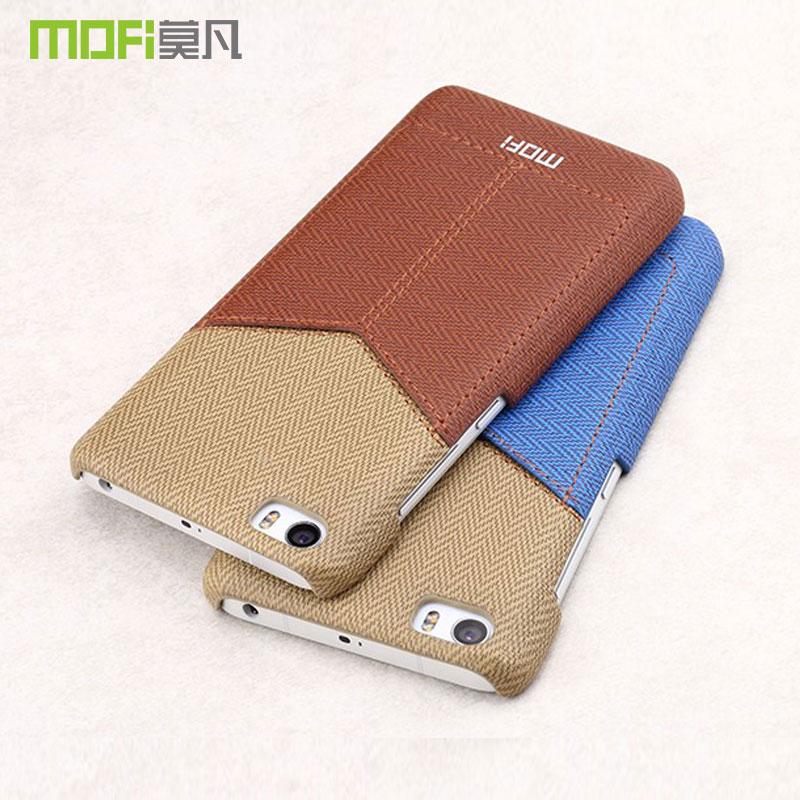 Funda MOFI original Mi5 con bolsillo para tarjeta para Xiaomi Mi5 Pro funda trasera dura Xiaomi 5 funda de cuero tipo billetera funda 5,15
