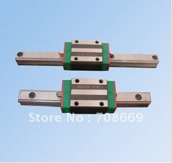 HGR15 L500mm السكك الحديدية مع 1 قطعة HGH15 CA ضيق نوع النقل الخطي دليل