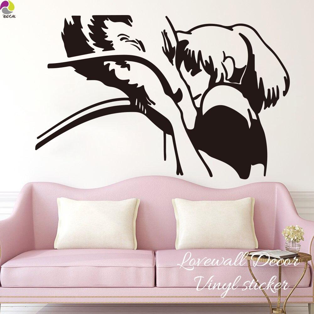 Виниловые наклейки на стену для детской комнаты с изображением унесенного в спираль шихиро и Хаку, с милым драконом для девочек, виниловые н...