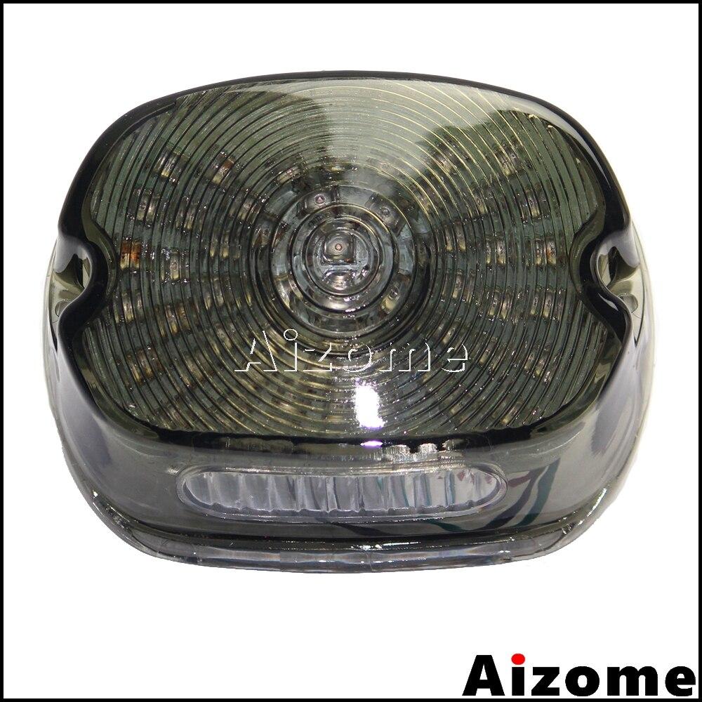 Luz trasera LED para motocicleta, luz de freno, lámpara de freno trasera para Harley Softail Sportster Dyna Road King XL FXST FLHR FXD
